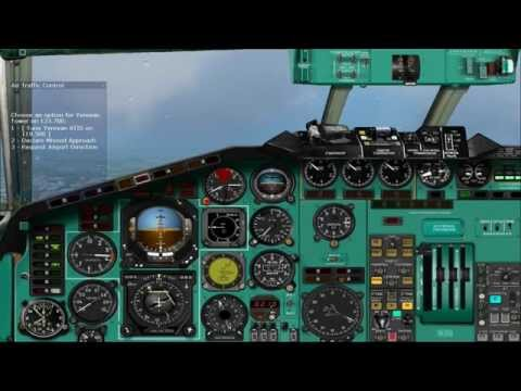 Tupolev Tu-154M (UUDD-UDYZ) HD Video