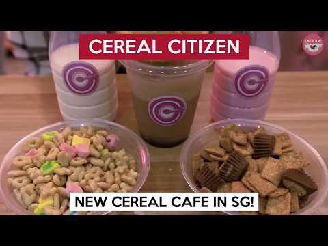 Singapore's Very Own Cereal Cafe Opened By Bong Qiu Qiu | Cereal Citizen