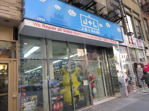 J&L GAME STORE NYC - #1 USED GAME STORE IN NYC + 3000 Sub Giveaway!
