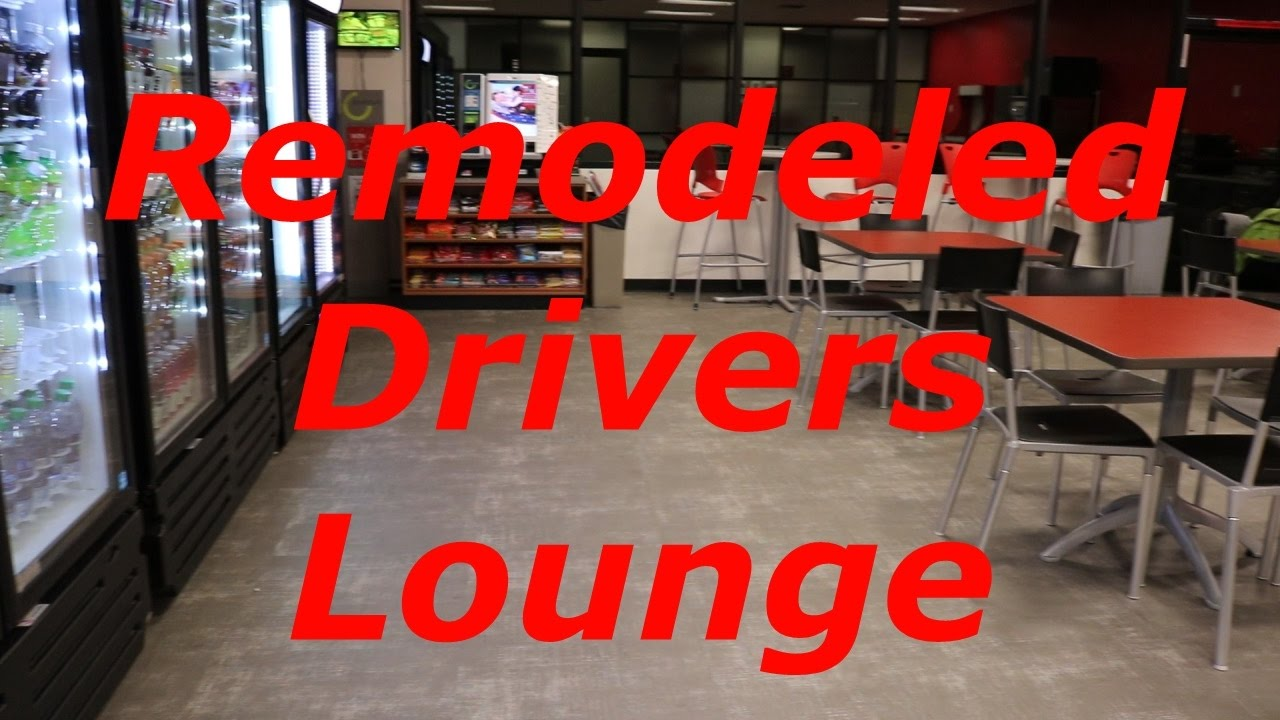 The Newly Redone Drivers Lounge At The Knight Transportation ...