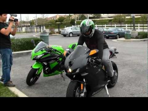 DUCATI 749 With TERMIGNONI Exhaust Review By A Kawasaki Ninja ZX6R Rider Motorcycle VLOG