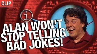 QI | Alan Won't Stop Telling Bad Jokes!