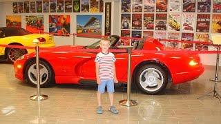 №11 Сочи - Музей Автомобилей Сочи Автодром Формула 1 / Лучшее видео для мальчиков про машины