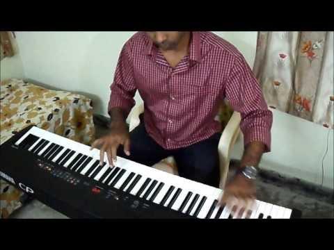 Jeene laga hoon (Ramaiya Vastavaiya) on Piano