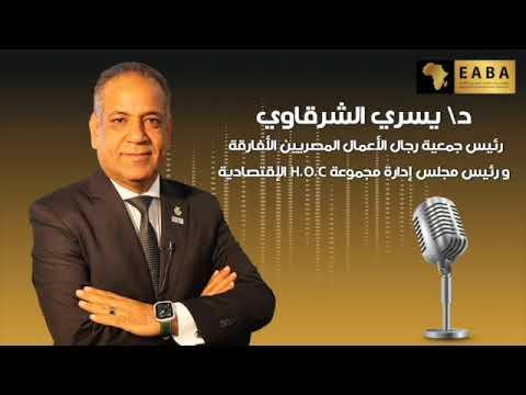 رئيس جمعية رجال الاعمال المصريين الافارقة يقدم رؤية مجتمع الاعمال الافريقي - لصوت العرب