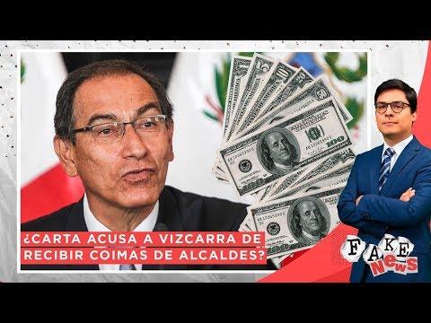 ¿Carta acusa a Vizcarra de recibir coimas de alcaldes? - Fake News