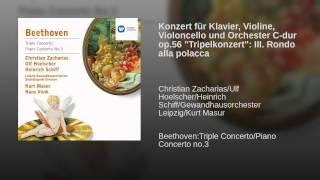 """Konzert für Klavier, Violine, Violoncello und Orchester C-dur op.56 """"Tripelkonzert"""": III. Rondo..."""