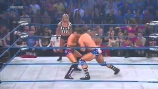 (720pHD): iMPACT Wrestling 01.10.13: Rob Terry & Brooke Tessmacher vs Jesse & Tara (Victoria)