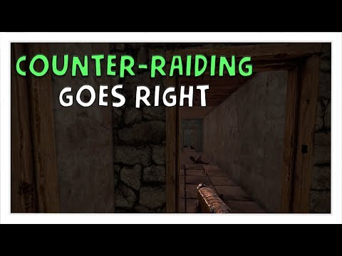 Rust Survival #3 | When Counter-Raiding Goes Right