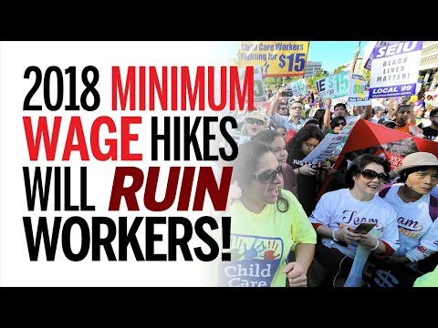 Low-Skilled Workers Are Doomed Due To Minimum Wage Hikes Across The Country in 2018