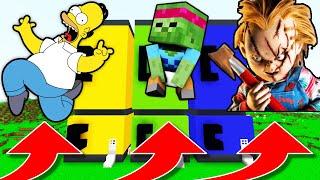 NE CHOISISSEZ PAS LE MAUVAIS FRIGO MINECRAFT !! Homer Simpson Bébé Diabolofeat35 Chucky !