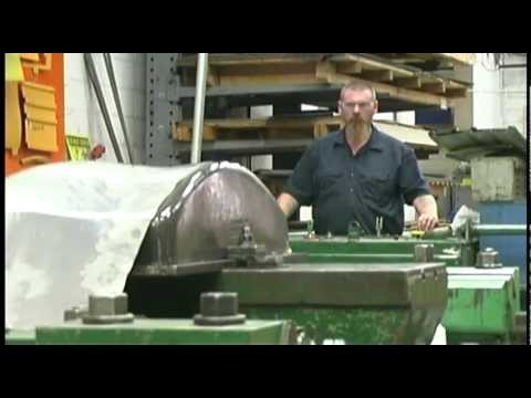Stretch Press Forming at MILTON Manufacturing