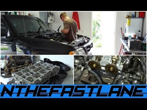 "Head Gasket & Timing Ford Ranger/Mazda B ""How To"""
