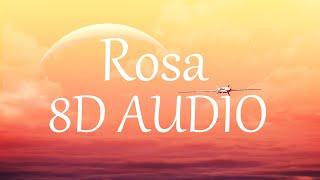 J Balvin - Rosa (8D AUDIO) 360°