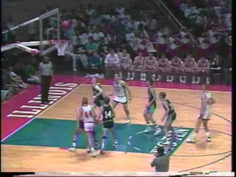 1990 Illinois Class A Basketball High School Championship Game Wesclin vs Prairie Central