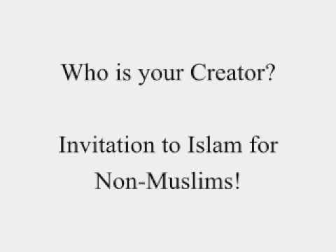 Who is your creator invitation to islam for non muslims dawud invitation to islam for non muslims dawud adeeb stopboris Image collections