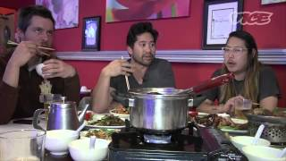Danny Bowien eats at SpicesII,the best szechuan food restaurant in San Francisco!