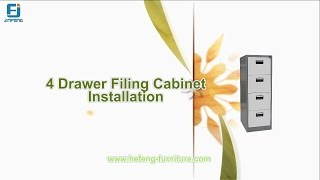 How to Install Vertical Filing Cabinet