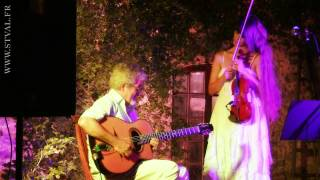 Les feuilles mortes - Violin (Stephanie Valentin) - Guitar and loopstation (JF Oricelli)