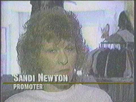 Michigan Deathfest coverage 1990 Jackson Lansing TV 10 Action NEWS death metal concert MI