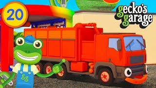 Hide and Seek Trucks | Learn Colours For Children | Gecko's Garage | Educational Videos For Toddlers