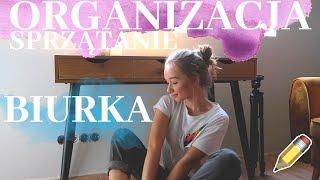 SPRZĄTANIE I ORGANIZACJA BIURKA  back to school 2019