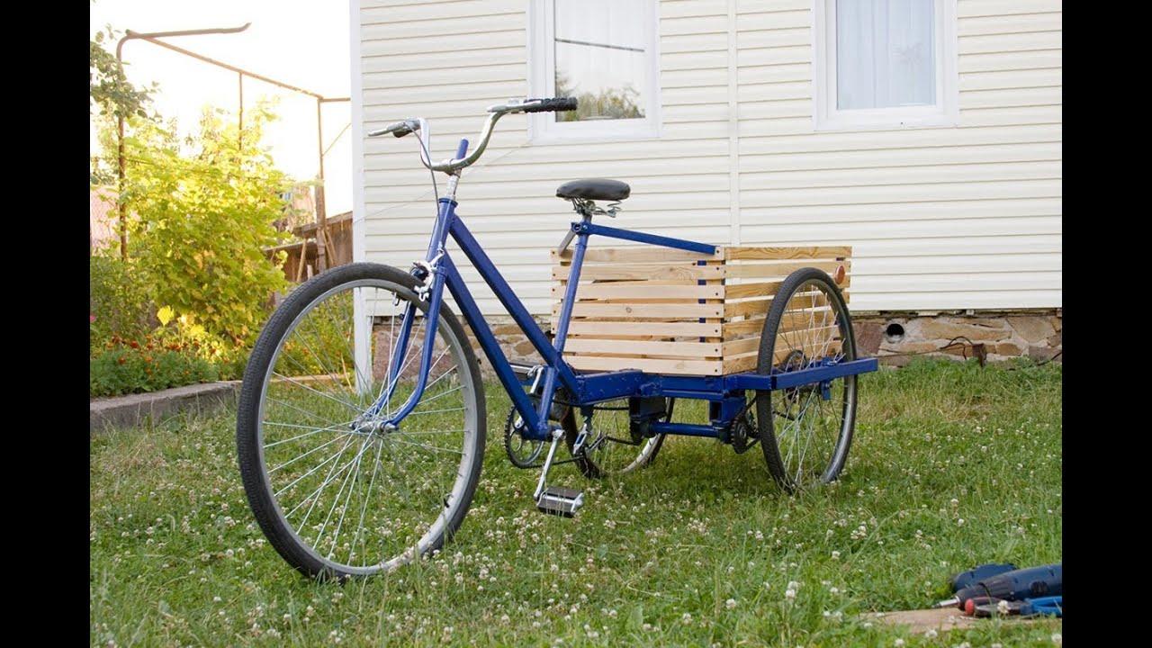 Самодельный трехколесный велосипед своими руками чертежи фото 578