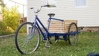 велосипед своими руками видео