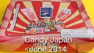 Candy Japan Monthly Subscription Service - June 2014