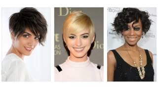 Kratke moderne frizure