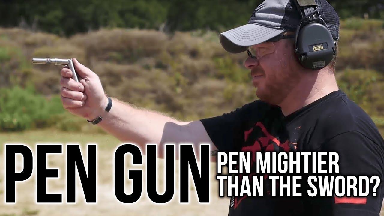 A Pen That Is A Gun!   The Braverman Stinger
