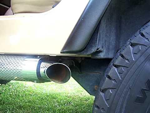 jeep wrangler 4 0 dual exhaust clip