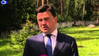 Андрей Воробьев провел встречу с предпринимателями Балашихи