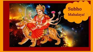 Happy Mahalaya Special WhatsApp Status Video  New Mahalaya status Video-Subho Mahalaya