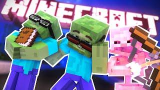 КРУТЫЕ ЗОМБИ! - Обзор Мода (Minecraft) | ВЛАДУС