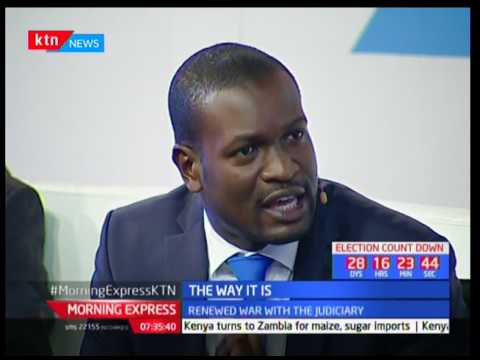 Lawyer Edwin Sifuna goes ballistic on live television broadcast