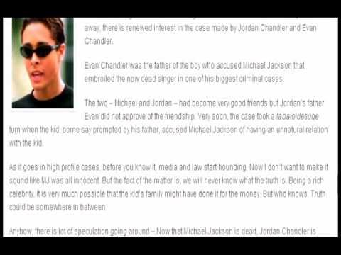!!JORDAN CHANDLER ADMITS HE LIED ABOUT MICHAEL JACKSON MOLESTING HIM!!7 7 09