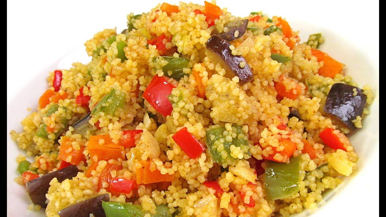 Cous cous con verduras youtube for Que cocinar con verduras