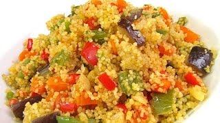 Cous cous con verduras