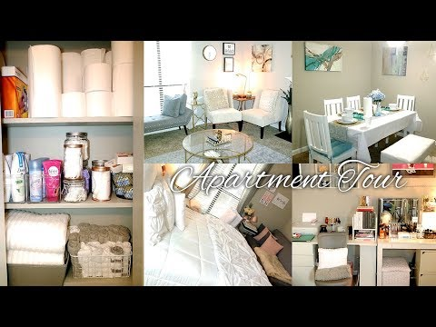 APARTMENT TOUR!!! | Online Decor + Thorough Walk-Through | NC | 2017