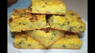 Пирог с Капустой и Зеленым луком