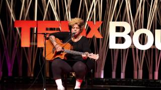 Walk like thunder | Kimya Dawson | TEDxBoulder