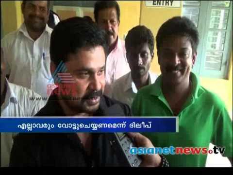 Kerala Election 2014: Celebrities on polling booth  കേരളം പോളിങ്ങ് ബൂത്തിലേയ്ക്ക്