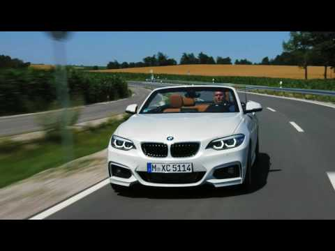 2018 BMW 220d Convertible M Sport Package driving scenes