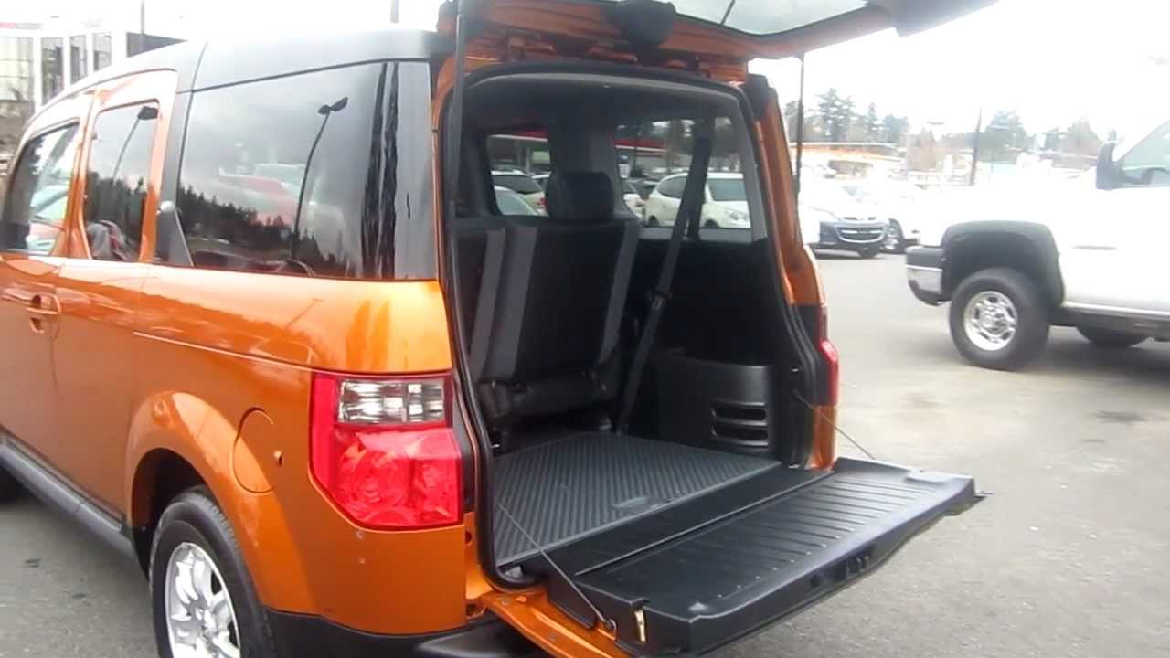 2006 honda element ex p orange stock m1401651. Black Bedroom Furniture Sets. Home Design Ideas