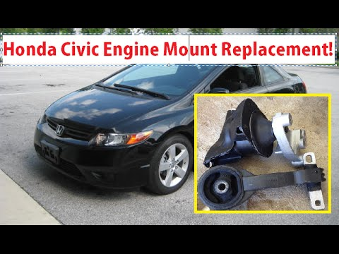 Honda Civic Engine Mount Replacement Honda Civic 2006