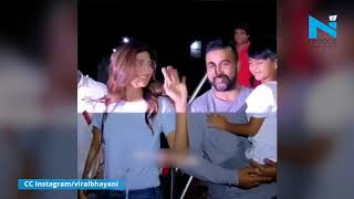 Shilpa Shetty spotted with hubby Raj Kundra and son Viaan