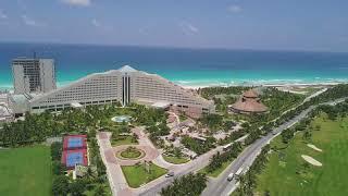 Iberostar Cancun - 4k Drone Video - Cancun, Mexico