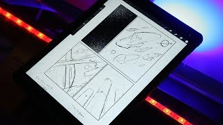 How To Make Comic Book Page Layouts (Omega Ronin Project Vid 2) - Drawing with Lord Karnage