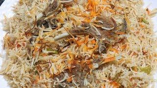 Mutton Yakhni Pulao   Eid Special Recipe   Mutton Biryani In Hindi